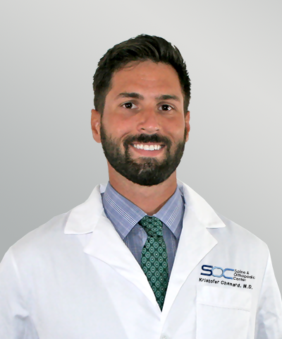 Dr Kristofer chenard orthopedic surgeon